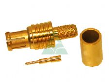MCX  Straight Male Crimp-on Type